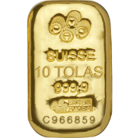 Gold Bar - 10 Tolas