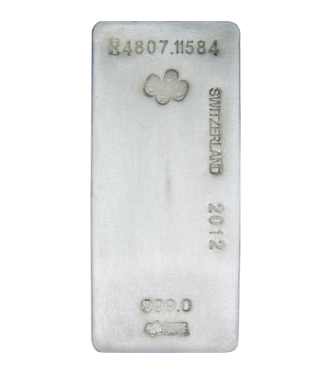 Large Silver Bar - 1000 oz