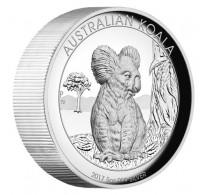 Australian Koala 2017 5oz Silver Proof High Relief Coin