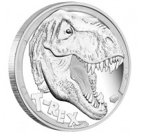 Tyrannosaurus Rex 2017 5oz Silver Proof Coin