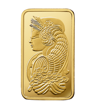 Fortuna Gold Rectangular Ingot - 5 g