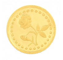 917 Purity 4 Gms Gold Coin